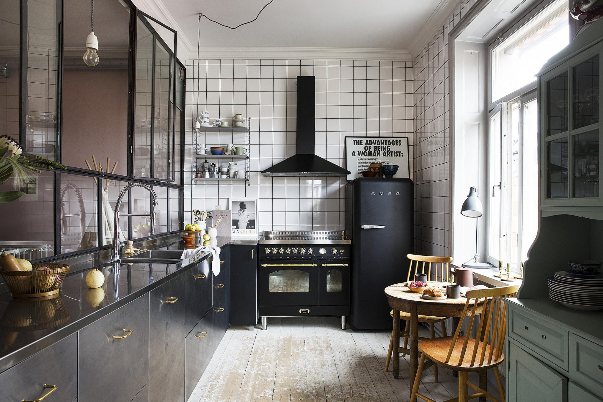 An Industrial Apartment Full Of Art In Stockholm House Diaries Com
